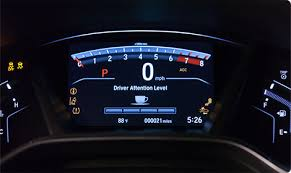 Driver Attention Monitor makes a recommendation for a break when your driving input is diminished.