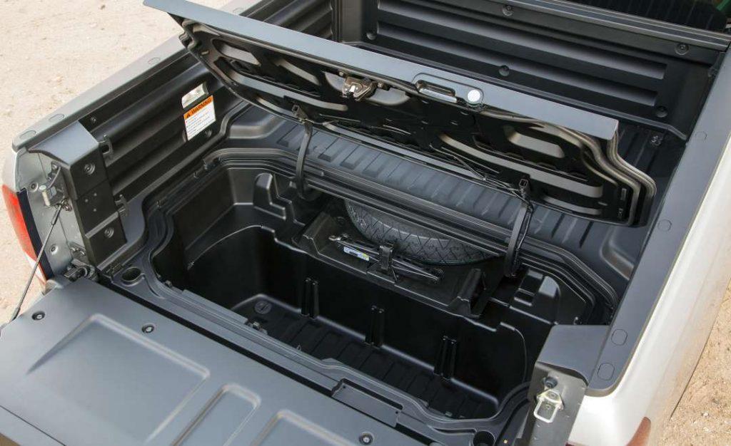 2017 Ridgeline in-bed trunk