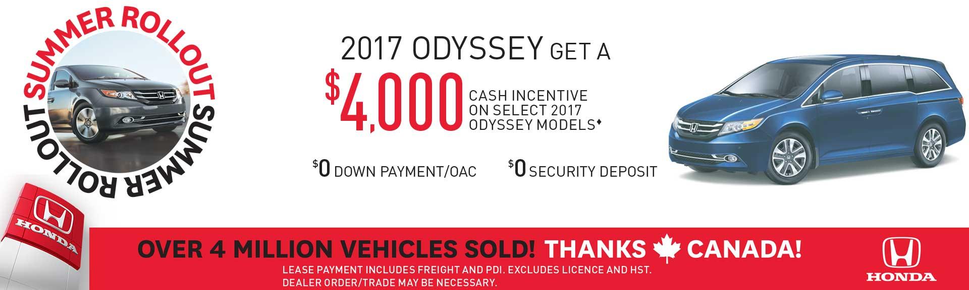 2017 Odyssey