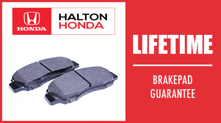 Lifetime Brakepad Guarantee