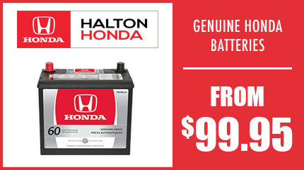 Genuine Honda Batteries