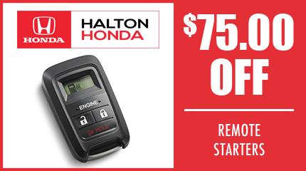 $75 OFF Remote Starter