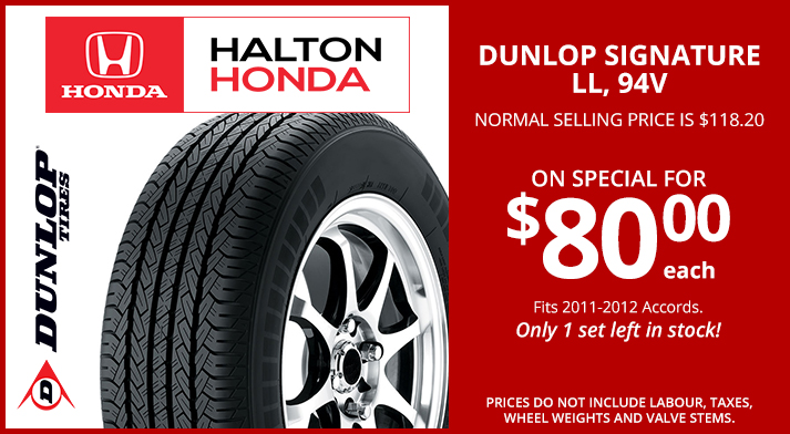 Dunlop Signature ll, 94V